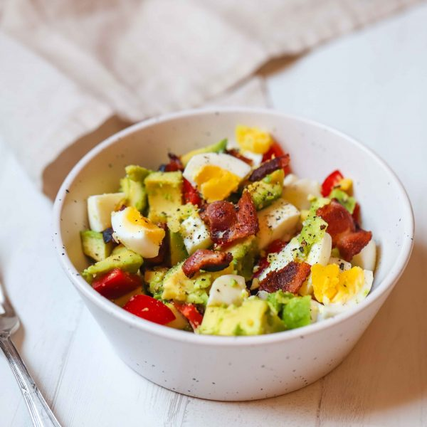 Egg Bacon and Avocado Bowl