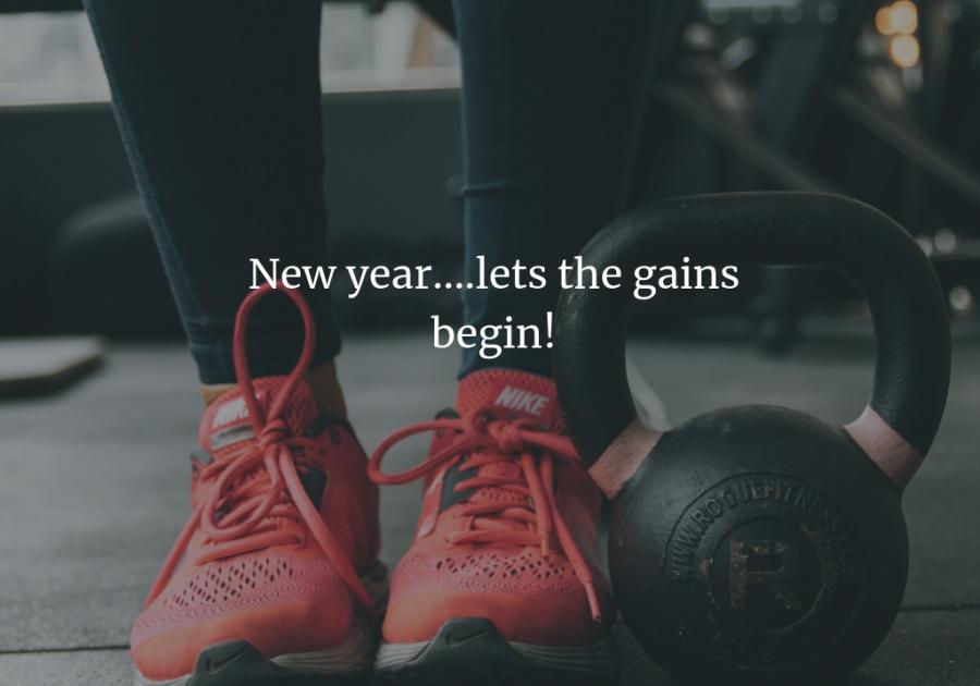Let the gains begin